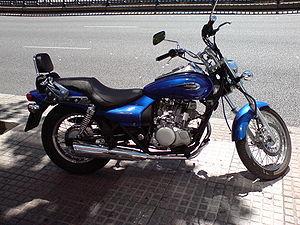 Kawasaki.  Eliminator 125 (EL125) 2009 модельного года - маломощный мотоцикл...