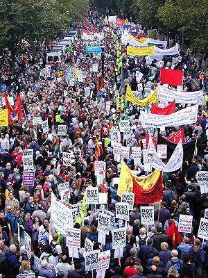 Iraq invasion protest