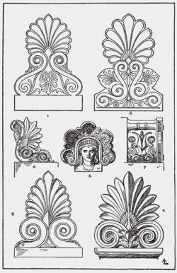 Chapiteaux Corinthiens Orna105-stirnziege