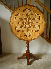 this parquetry design is