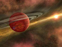 ¿POR QUE SE ENCUENTRA LOS PLANETAS EN EL MISMO PLANO? Planet_formation