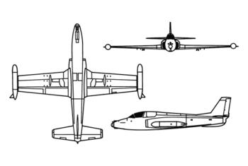 Soko J-21 Jastreb Soko_galeb-jastreb