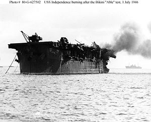 USS Independence CVL 22